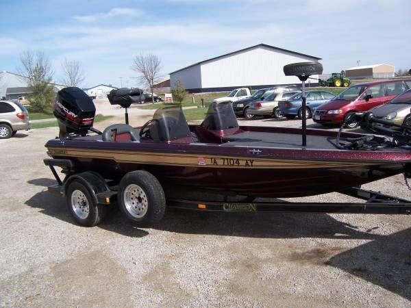 181 champion boats for sale for Fishing boats for sale in iowa