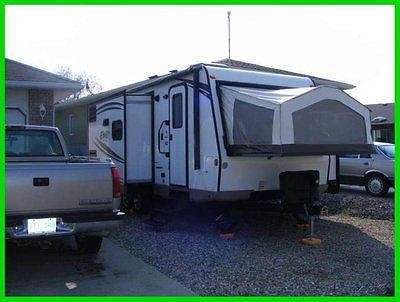 2015 Forest River Rockwood Roo 231KSS 25' Travel TRLR 2 Slide Outs Portable BBQ