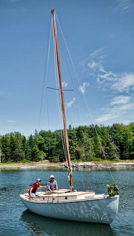 2011 Custom Wooden Sloop