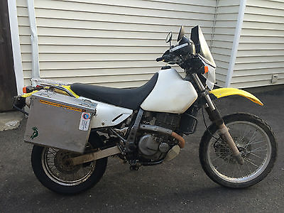 Suzuki : DR 2003 suzuki dr 650 loaded and ready to ride