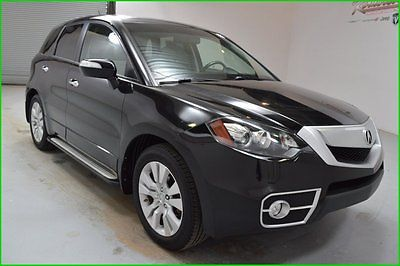 Acura : RDX 2.3L 4 Cyl AWD SUV Sunroof Leather heated seats FINANCING AVAILABLE!! 116k Miles Used 2010 Acura RDX AWD SUV 6 CD Running Boards