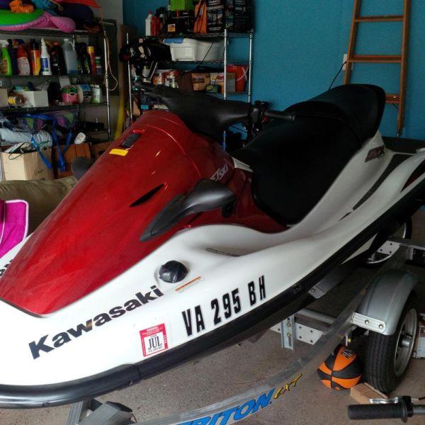 2005 Kawasaki STX 900 JET SKI 3 seater ONLY 15 hours