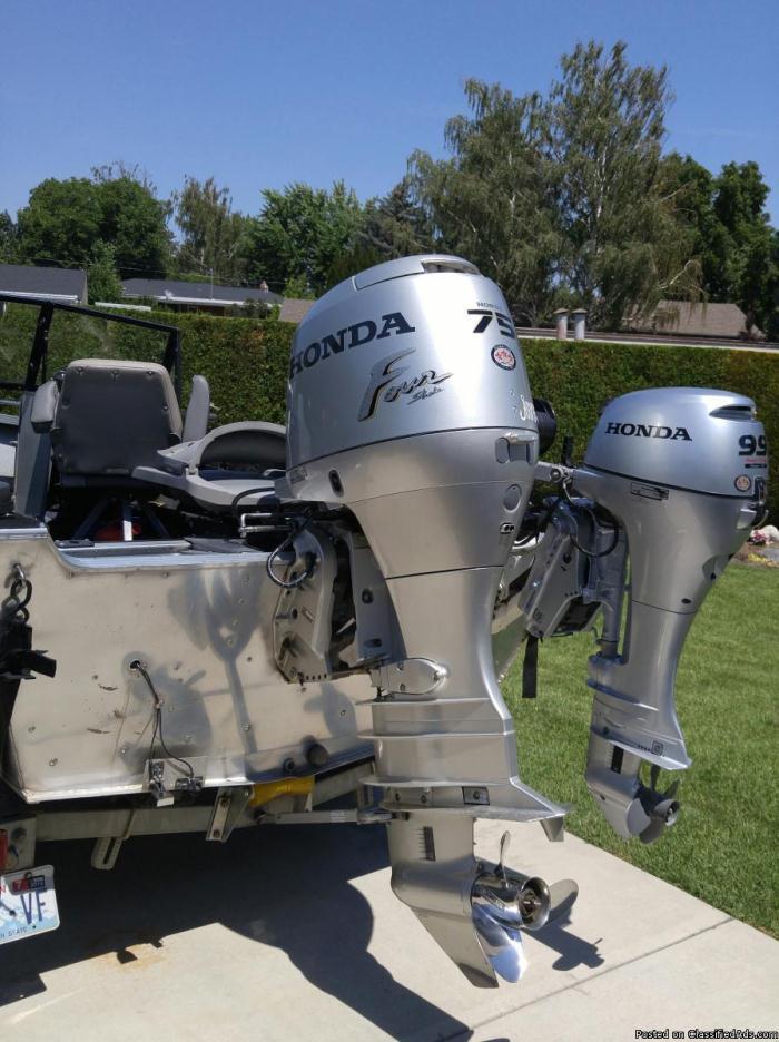 Honda 75 Hp Boats For Sale