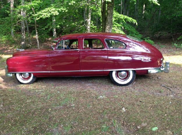 1950 Nash Ambassador super for: $12995