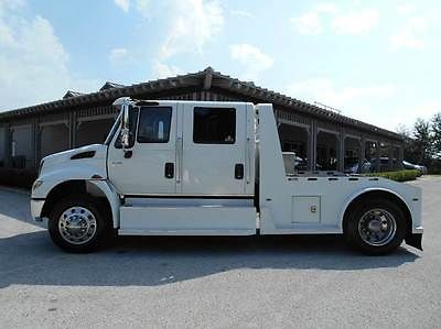 International Harvester : Other 2L Crew Cab Hauler 2008 international 4400 crew cab hauler dt 570 with 54 k miles air ride like new