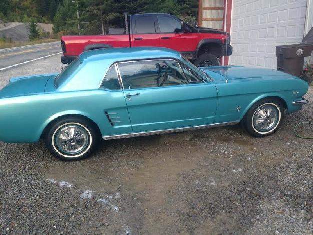 1966 Ford Mustang for: $16000