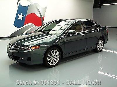 Acura : TSX AUTOMATIC SUNROOF HEATED LEATHER XENONS 2006 acura tsx automatic sunroof heated leather xenons 001991 texas direct auto