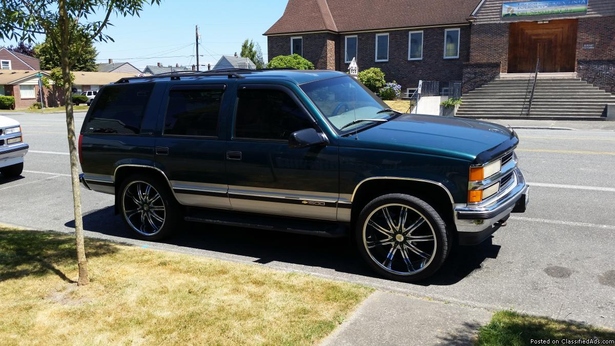97 Chevy Tahoe Cars For Sale