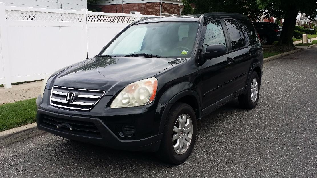2005 honda crvawd fully loaded with black leather
