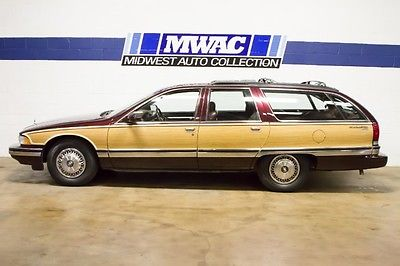 Buick : Roadmaster Estate Wagon Collector's Edition Wagon 4-Door TWO OWNER~G80~G67~LAST YEAR~LT1~RARE COLOR~WOW~ONLY 68K~
