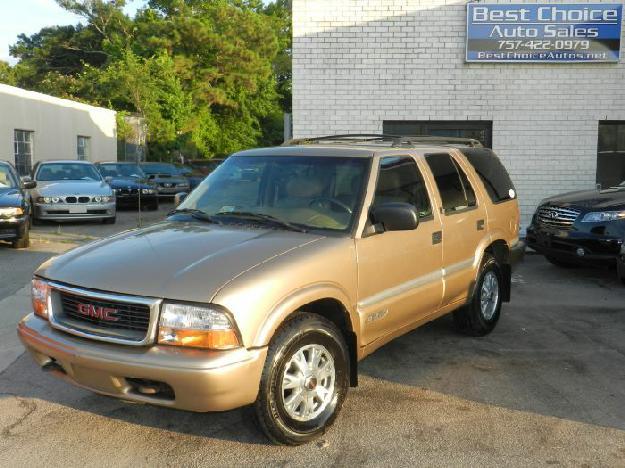 2000 GMC Jimmy SLT Luxury 4X4 Clean Family SUV We Finance!!! - Best Choice Auto Sales, Virginia Beach Virginia