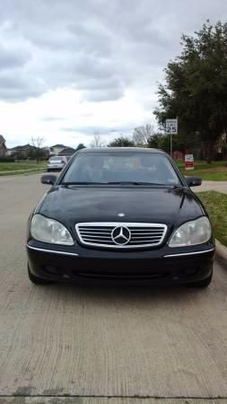 2001 Benz s430 for sale