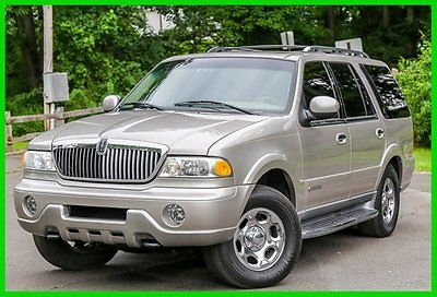 Lincoln : Navigator Base Sport Utility 4-Door 2002 lincoln navigator low 84 k mi 3 rd row serviced rare v 8 carfax