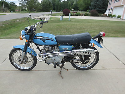 1971 honda cl scrambler motorcycles for sale
