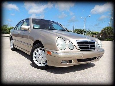 Mercedes-Benz : E-Class E320 FLORIDA, 1 OWNER, NEW JAGUAR TRADE, EXTENSIVE DEALER SERVICE HISTORY - STUNNER!