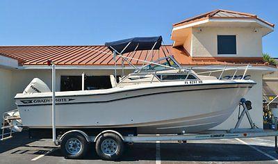 1994 Grady White 208 Adventure Walkaround Boat 2004 Evinrude outboard