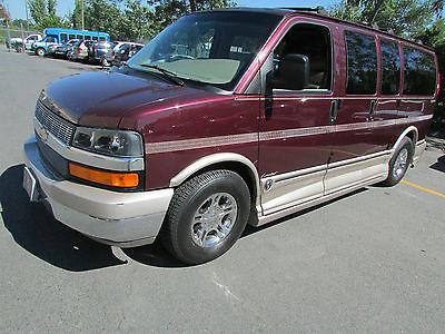 Chevrolet G20 Van EXPLORER CONVERSION PACKAGE 2004 Chevy Conversion Leisure Club