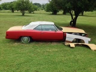 1973 Cadillac El Dorado Convertible for: $4500