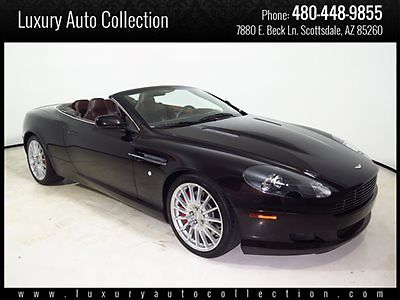 Aston Martin : DB9 2dr Volante Automatic 06 db 9 volante only 14 k miles red calipers navigation sport wheels htd seats 07