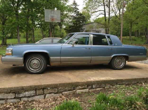 1990 Cadillac Brougham for: $7995