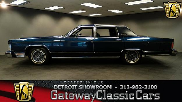 1979 Lincoln Continental for: $13995