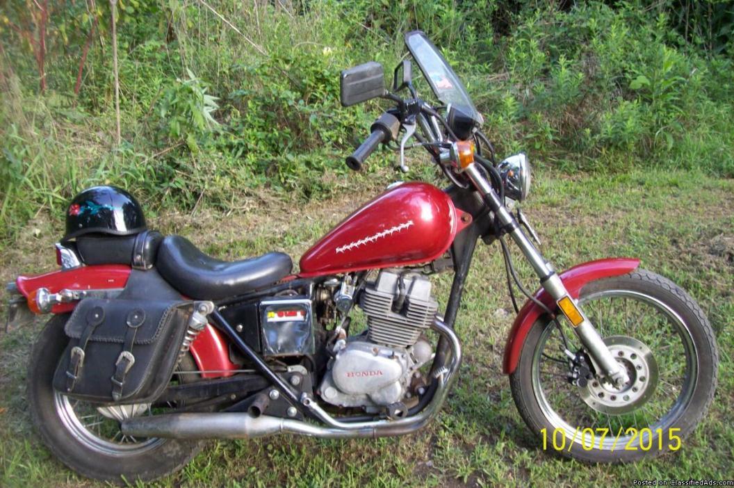 1985 honda rebel 250 motorcycles for sale. Black Bedroom Furniture Sets. Home Design Ideas