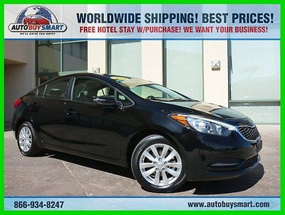 Kia : Forte LX ** 1 Owner ** ECONOMICAL ** SPECIAL OFFER 2014 lx used 1.8 l i 4 automatic fwd sedan 1 owner economical