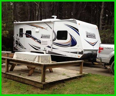 2012 Lance 1885 23' Travel Trailer Slide Out Awning Sleeps 4 CALIFORNIA