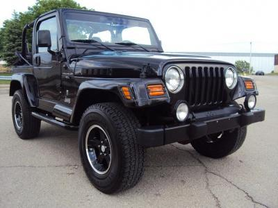Jeep Wrangler 2001 Black