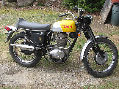 BSA : 441 Victor Special Nice original bike