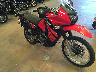 Kawasaki : KLR 2009 kawasaki klr 650 e 9 k miles looks good runs great buy it now