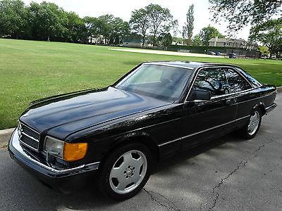 Mercedes-Benz : 500-Series Base Coupe 2-Door 1991 mercedes benz 560 sec only 102 k miles w 126