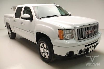 GMC : Sierra 1500 Denali Crew Cab 2WD 2009 navigation leather heated cooled v 8 vortec we finance 70 k miles