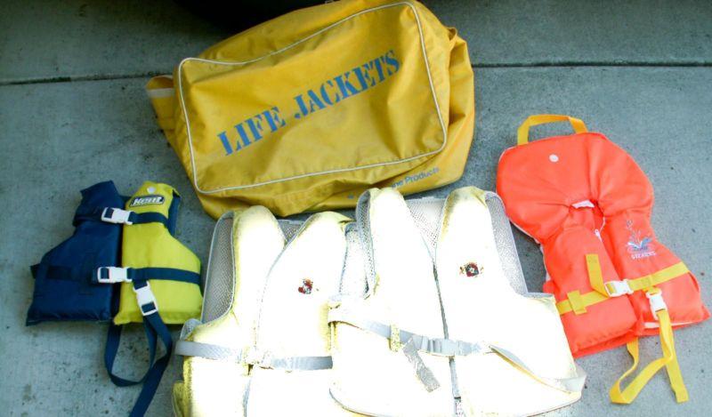Life jacket, personal floatation device, PFD