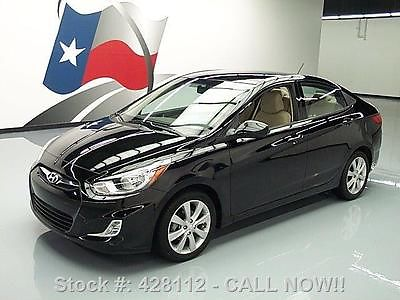 Hyundai : Accent GLS AUTOMATIC CRUISE CTL ALLOYS 2013 hyundai accent gls automatic cruise ctl alloys 13 k 428112 texas direct
