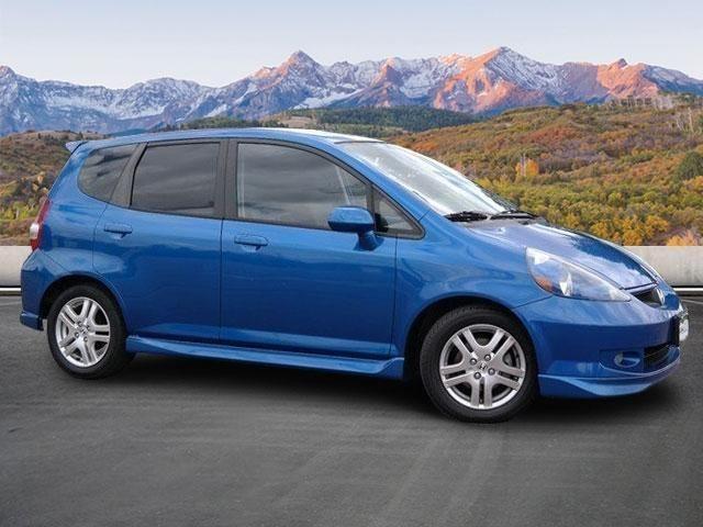 2007 honda fit 4dr car sport cars for sale. Black Bedroom Furniture Sets. Home Design Ideas