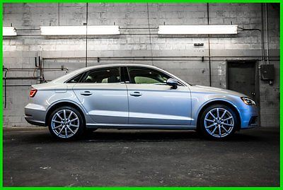 Audi : A3 Premium FWD Sedan 2015 audi a 3 premium pkg navigation heated seats sunroof