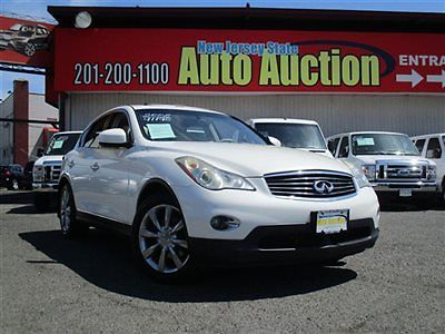 Infiniti : EX AWD 4dr Journey AWD 4dr Journey Infiniti EX35 Leather Sunroof Navigation Backup Camera Parking S