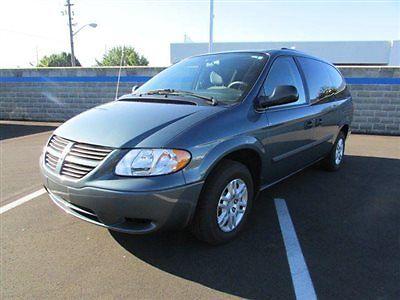 Dodge : Caravan 4dr Grand SE 4 dr grand se van automatic 3.3 l v 6 cyl green