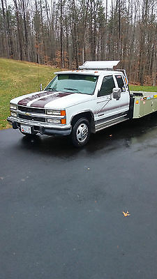 Chevrolet : C/K Pickup 1500 1994 chevy 3500 dually w hodges hauler tow truck 20 foot bed
