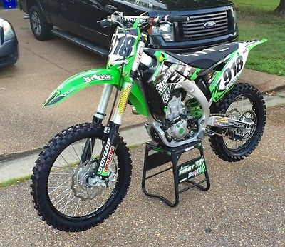 Like New Kx450f Dirt Bike Motorcycles for sale