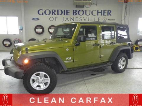 2007 Jeep Wrangler Unlimited X Janesville, WI
