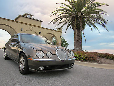 Jaguar : S-Type LOW MLES, IMMACULATE INTERIOR,WNDOW TREATMENTS