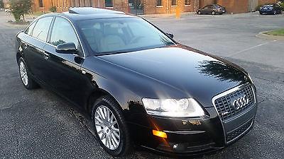 Audi : A6 3.2L S-LINE 2008 audi a 6 s line prestige 3.2 l 73 k miles