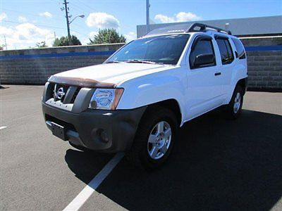 Nissan : Xterra 2WD 4dr Automatic X 2 wd 4 dr automatic x suv manual gasoline 4.0 l v 6 cyl white