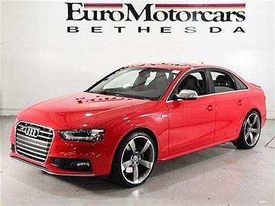 Audi : S4 SR PREMIUM PLUS Audi S4 4dr Sedan S Tronic Premium Plus misano red awd nappa leather 4 14 used L