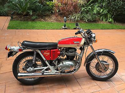 BSA : Lighting 650 A65 1971 bsa 650 lighting