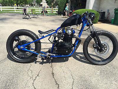Custom Built Motorcycles : Bobber Custom XS650 BOBBER