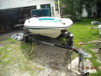 Jet Boat with Trailer - 1994 Cyclone Sport Jet Inboard Runabout