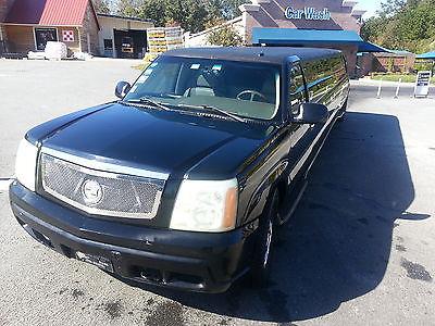 18 Passenger Black Cadillac Escalade Limousine 2003